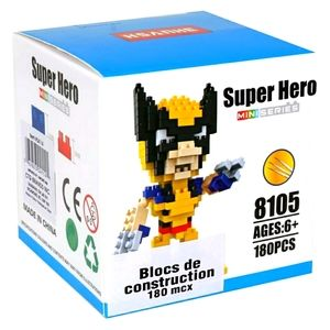 Other - NWT Marvel's Wolverine Micro Building Blocks Set